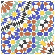 Drawing inspiration from the intricate tilework of the Middle East, the Merola Tile Sevillano Andalusia in. Ceramic Wall Tile offers a stunning blend of colors with chromatic intensity Ceramic Wall Tiles, Mosaic Tiles, Marble Mosaic, Mosaic Art, Tile Projects, Thing 1, Andalusia, Stone Tiles, Tile Patterns