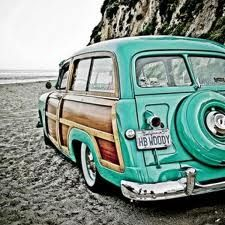 """How awesome is this """"woody""""...a station wagon with wood paneling exterior. Classy! LJH"""