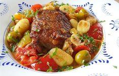 Kuřecí recepty z jednoho hrnce jsou takovou vděčnou alternativou pro relativně rychlé a bezpracné ob... Gnocchi, Pot Roast, Salsa, Beef, Ethnic Recipes, Food, Meat, Easy Meals, Carne Asada