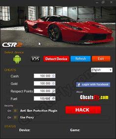CSR Racing Hack APK Generates infinite CSR Racing free gold and cash Update Cheat Online, Hack Online, Drag Racing Games, Script, Ios, Game Data, App Hack, Most Popular Games, Antivirus Software