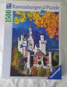 Ravensburger Jigsaw Puzzle 1500 Piece NEUSCHWANSTEIN CASTLE IN AUTUMN #Ravensburger