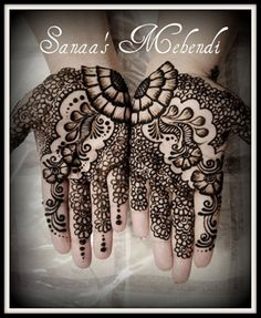 Mehendi, - when  look at this picture, i can feel my heart pounding and smiling like an idiot :P