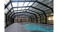49 Pool Structures Ideas Pool Retractable Roof Pool Enclosures