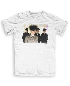 Jesus and Mary Chain - Music T-shirts by Tony Mottram S to XXL Unisex - white