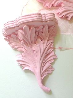 Vintage Syroco Wood Hand Painted Shabby Chic by MariasFarmhouse, $55.00