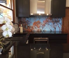 #printed #acrylic #splashbacks by Innovative Splashbacks® add high class #style and ooze individuality into any space.
