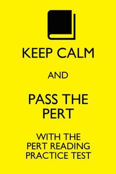 Study guide for pert exam