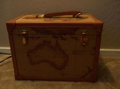 Alviero Martini World Train Case Travel Case by doyourememberwhen, $180.00