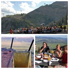Dinner: The Deck in Jackson, WY  | Sunday - Friday beginning at 4:30 PM  -  Gondola Ride is FREE (starts at 4:30 PM) - Happy Hour is from 5-6 pm with $2 off draft beer and a $5 specialty cocktail that will change every day.
