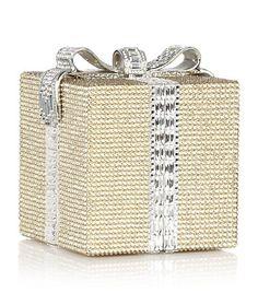 Judith Leiber Gift Box Clutch Bag