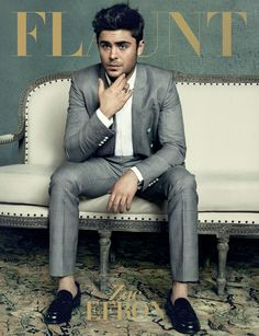 Zac in Flaunt Magazine ~ April 2013 issue ~ The Mercenary Issue: We Box It Out