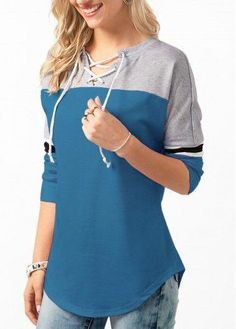 Stylish Tops For Girls, Trendy Tops, Trendy Fashion Tops, Trendy Tops For Women Navy Blue T Shirt, Trendy Tops For Women, Hoodie Pattern, Stitch Fix Outfits, Dress Shirts For Women, Business Casual Outfits, Outfit Goals, Fashion Outfits, Womens Fashion