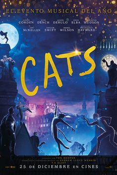 'Cats' - Andrew Lloyd Webber's musical comes to screen as a spectacle starring luminaries such as Taylor Swift, Jennifer Hudson, Idris Elba, and Judi Dench. Latest Movies, New Movies, Movies Online, Ian Mckellen, Judi Dench, Jennifer Hudson, Jason Derulo, Idris Elba, Cat Movie