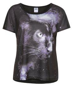 Vero Moda - PANTHER - T-shirt print - Zwart