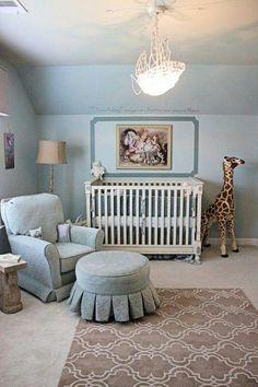 Vintage safari nursery