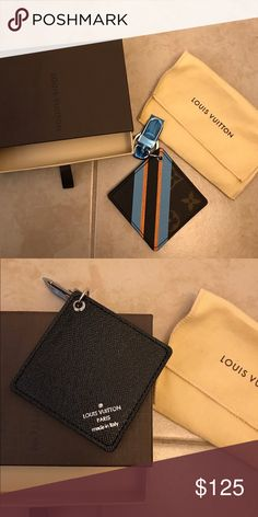 Authentic Louis Vuitton bag charm New condition, never been used. Accessories Key & Card Holders