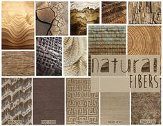 Natural fibers can add a layer of texture & warmth to any interior. Try mixing different fibers for more interest!