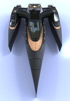 Luxury Harizon Yacht by Barnaby Heseltine