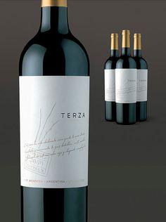 terza tremilla wines label design