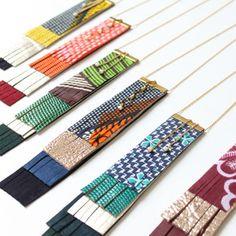 CéWax, Créations textiles et bijoux ethniques en wax, tissu africain. Pièces uniques et fabriquées à la main en France http://cewax.alittlemarket.com Retrouvez toutes les sélections ethno tendance de CéWax sur le blog : https://cewax.wordpress.com  - Image of collier Tijuca