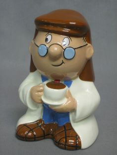 A Wade money box in the form of a Tetley Tea figure
