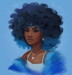 Black Art Painting, Black Artwork, Black Love Art, Black Girl Art, Black Girl Cartoon, Pop Art Girl, Black Art Pictures, African American Art, African Art