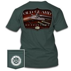Southern Sportsman – Old Guard Outfitters Shotgun, Mens Tops, T Shirt, Fashion, Moda, Tee Shirt, Fashion Styles, Fashion Illustrations, Shotguns