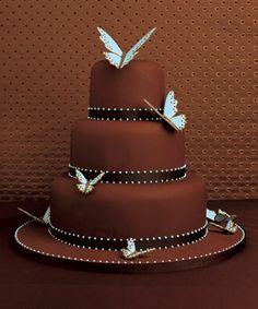 The Bright Spot - Chocolate Wedding Cake