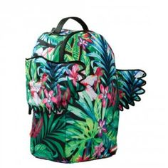 Sprayground Floral Wings DLX Backpack Floral Backpack 3bbfe7e41bb63