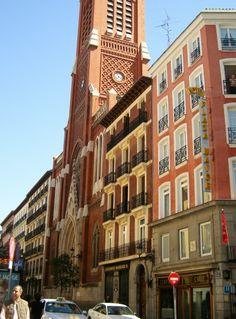 Iglesia de la Santa Cruz, Madrid España