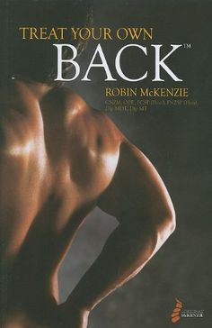 Help yourself to a pain-free back. This easy-to-follow book presents over 100 pages of education and clinically-proven exercises. The simple and effective self-help exercises in Robin McKenzie's Treat Your Own Back have helped thousands worldwide find relief from common low back and neck pain. This book helps you understand the causes and treatments, along with a system of exercises that can help you relieve pain and prevent recurrence By Robin McKenzie Easy-to-follow book