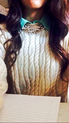 Sweaters and collar shirts