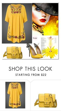 """Rosegal 59 / 60"" by binche ❤ liked on Polyvore"