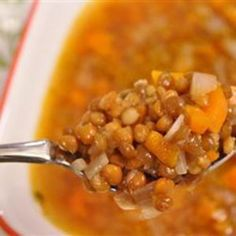Greek Fakes (Lentil) Soup