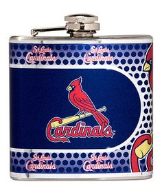Loving this Great American Products St. Louis Cardinals Stainless Steel Flask on #zulily! #zulilyfinds