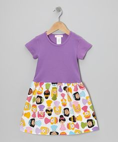 Take a look at this Alejandra Kearl Designs Purple Sweet Princess Dress - Infant, Toddler & Girls on zulily today!
