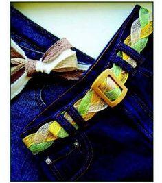 Braided Jute Belt