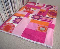 Retro pink flower playmat £40.00