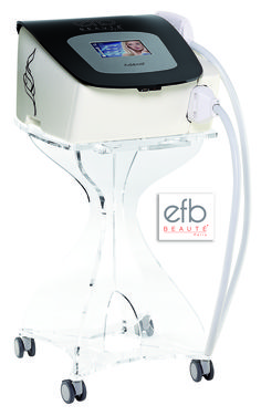 IPL(ADENA)  Technology able to securely treat all types of skin and hair With a powerful generator, Adéna® produces light energy at a maximum of 135 joules to treat all types of hair even the finest and fairest on skin phototypes 1 to 5, with no risks of burns.