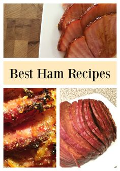 Best Ham Recipes for Anytime of the Year! Thanksgiving, Christmas, Easter- or just a Tuesday- ham is a versatile meat that most everyone loves. Ham Recipes, Quick Recipes, Quick Meals, Cooking Recipes, Easy Meals For Kids, Easy Family Meals, Kids Meals, Best Ham Recipe, Freezer Friendly Meals