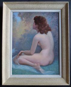 Quadro nudo di donna