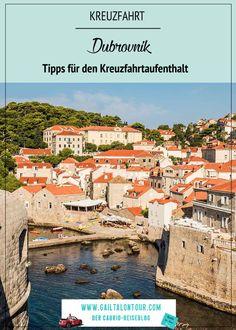 Kreuzfahrt Stop in Dubrovnik. Besuch des alten Hafens, Rundgang auf der Stadtmauer und Rundgang in der Altstadt. Eindrücke von Dubrovnik während eines kurzen Landgangs. Dubrovnik, Photo Mural, Croatia, Old Town, Round Trip, Tours