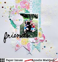 friends - Cocoa Vanilla Studio for Paper Issues - Scrapbook.com