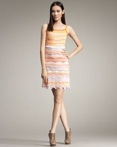 Every girl l should have at least one Missoni dress