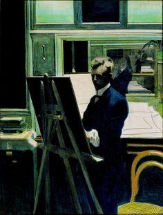 Old Paint (art-and-fury: Self-Portrait - Leon Spilliaert)
