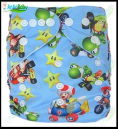 Free Shipping 500pcs Baby Modern Prefold Cloth Nappy Without Inserts Double Row Snaps Nappy $1,335.00