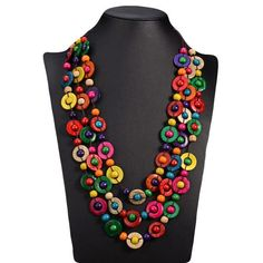 Cheap long necklace, Buy Quality long necklace women directly from China ethnic necklace Suppliers: UDDEIN Bohemia Ethnic Necklace & Pendant Multi Layer Beads Jewelry Vintage Statement Long Necklace Women Handmade Wood Jewelry Wooden Bead Necklaces, Unique Necklaces, Wooden Beads, Beautiful Necklaces, Handmade Necklaces, Wooden Jewelry, Braided Necklace, Beaded Statement Necklace, Bohemian Necklace