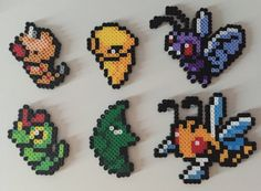 Pokemon Gen 1 10-15: Weedle Kakuna Beedril by PixelPrecious