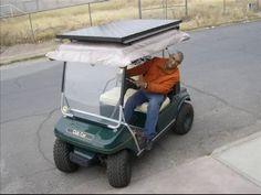 Con una inversión reducida, convierta su carro de golf a energía solar.