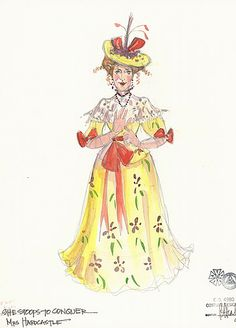 She Stoops to Conquer (Mrs. Hardcastle). Northlight Theatre. Costume design by Rachel Anne Healy.